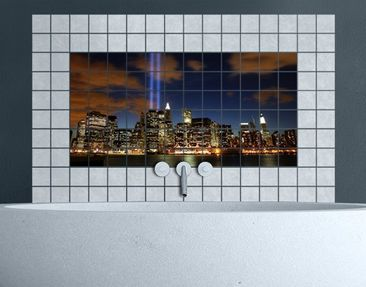 Product picture Tile Mural Tribute To The Lights