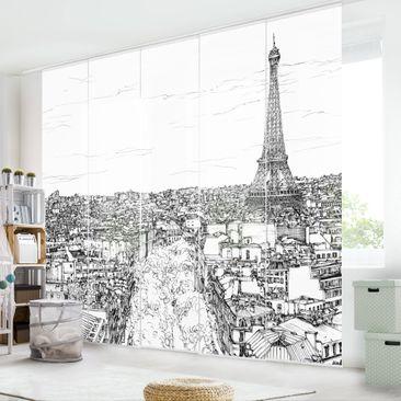 Immagine del prodotto Tende scorrevoli set - Città Studi - Parigi - 5 Pannelli