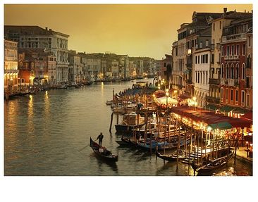 """Product picture Photo wall mural no.116 """"IL CANALE..."""