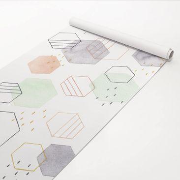 Immagine del prodotto Pellicola adesiva - Forme esagonali I