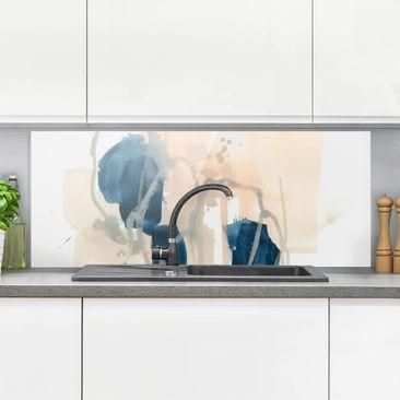 Produktfoto Spritzschutz Glas - Azurit I - Panorama
