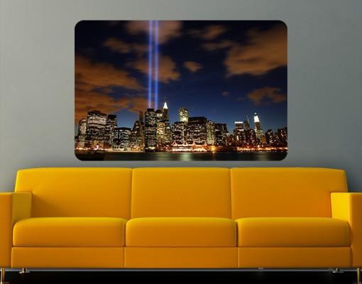 Produktfoto Selbstklebendes Wandbild Tribute To The Lights