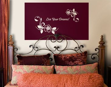 Produktfoto Wall Decal no.CA10 Your Own Words Dream...