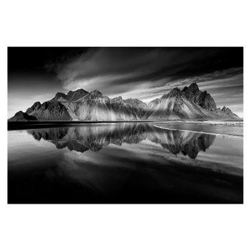 Produktfoto Fototapete - Vesturhorn in Island - Fototapete Breit