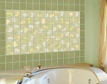 Produktfoto Tile Mural Floating flowers
