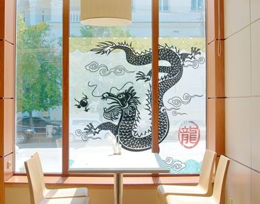 Product picture Window Mural Asian Dragon