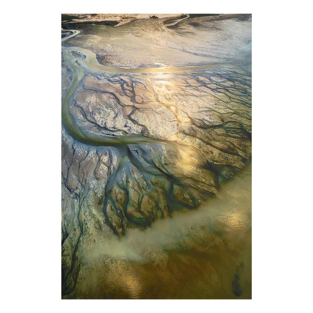 Produktfoto Glasbild - Küste in Kuwait - Hochformat 3:2