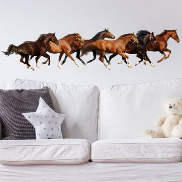 Produktfoto Wall Decal no.420 Horse Drove