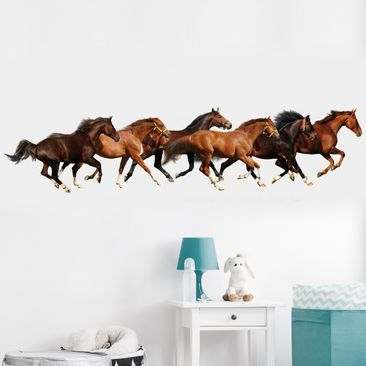 Product picture Wall Decal no.420 Horse Drove