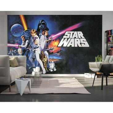 Immagine del prodotto Carta da parati per bambini - Star Wars Poster Classic 1 - Komar fotomurale