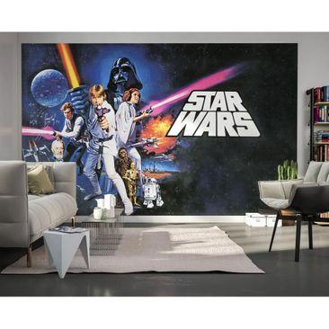 Produktfoto Disney Kindertapete - Star Wars Poster Classic 1 - Komar Fototapete Quer