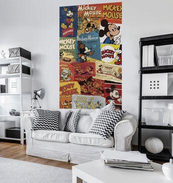 Immagine del prodotto Carta da parati per bambini - Mickey - Billboard - Komar fotomurale