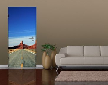 Produktfoto Door Photo Wall Mural Colorado Plateau