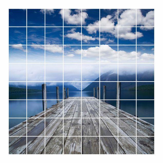 Produktfoto Fliesenbild Nelson Lakes National Park