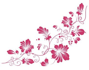 Product picture Wall Decal Hook no.79 Tender Flower