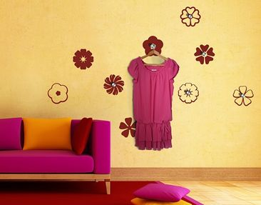 Product picture Wall Decal Hook no.131 Nine Blossoms