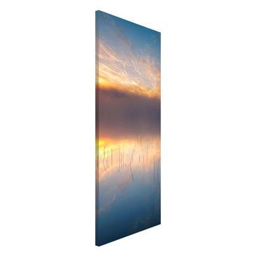 Immagine del prodotto Lavagna magnetica - Alba Lago svedese - Panorama formato verticale