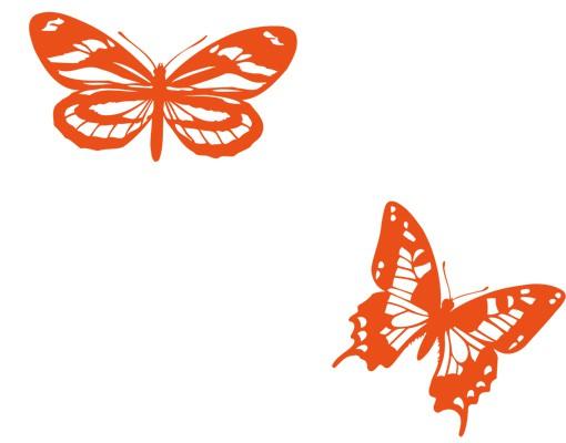 Produktfoto Wandtattoo Schmetterling Haken No.IS120 Schmetterlinge