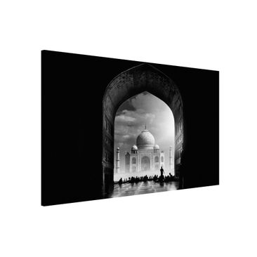 Immagine del prodotto Lavagna magnetica - Il Gateway al Taj Mahal - Formato orizzontale 3:2