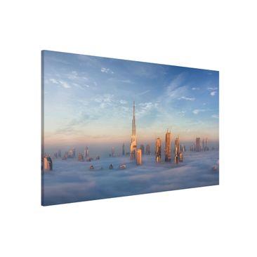 Produktfoto Magnettafel - Dubai über den Wolken - Memoboard Querformat 2:3