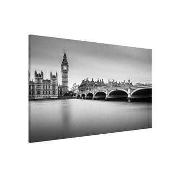 Immagine del prodotto Lavagna magnetica - Ponte di Westminster e il Big Ben - Formato orizzontale 3:2