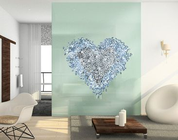 Product picture Window Sticker no.421 Diamond Heart
