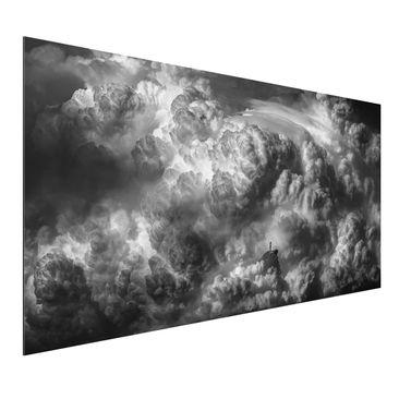 Produktfoto Aluminium Print - Ein Sturm zieht auf - Querformat 1:2