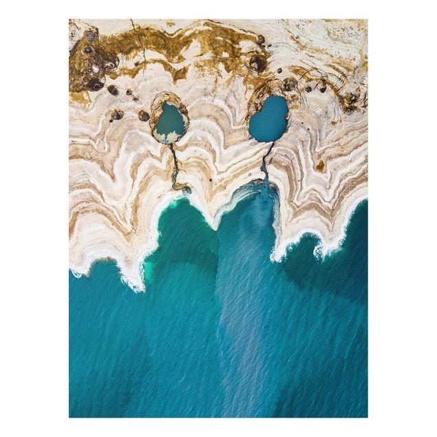 Produktfoto Forex Fine Art Print - Lagune in Israel - Hochformat 4:3