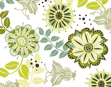 Product picture Wall Mural Spring Blossoms Into The Park...