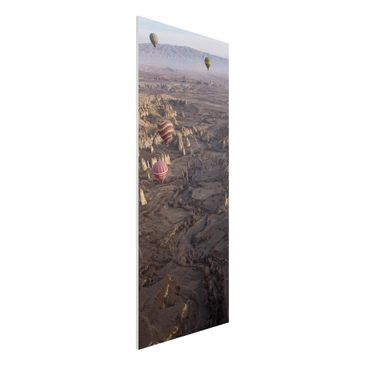 Produktfoto Forex Fine Art Print - Heißluftballons über Anatolien - Panel