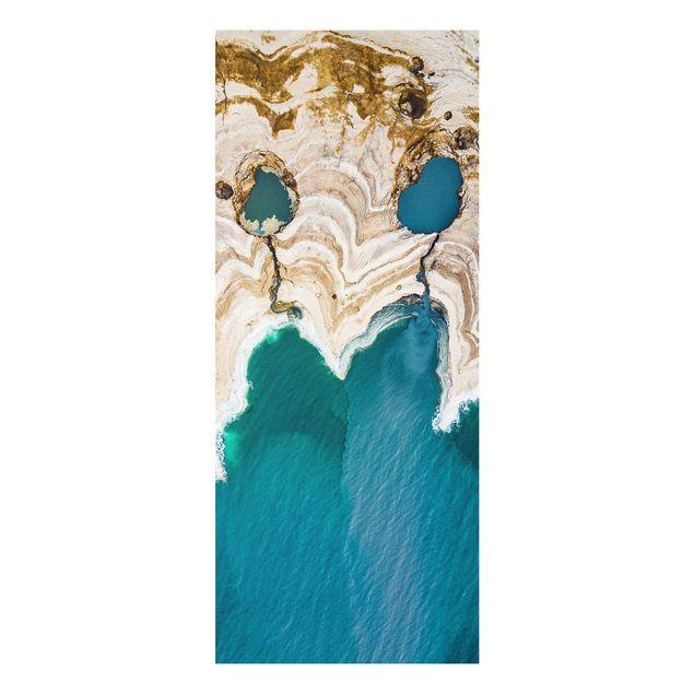 Produktfoto Forex Fine Art Print - Lagune in Israel - Panel