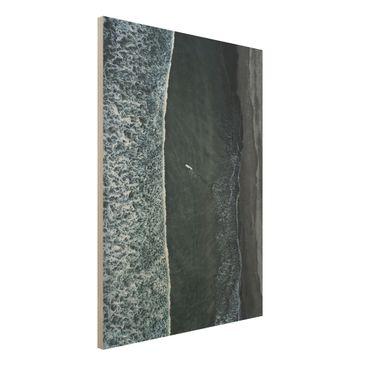 Immagine del prodotto Stampa su legno - Veduta aerea - Il Challenger - Verticale 4:3