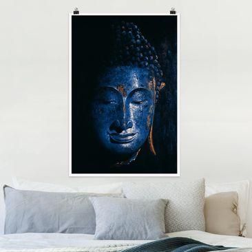 Produktfoto Poster - Delhi Buddha - Hochformat 3-2 vergrößerte Ansicht in Wohnambiente Artikelnummer 249683-XWA