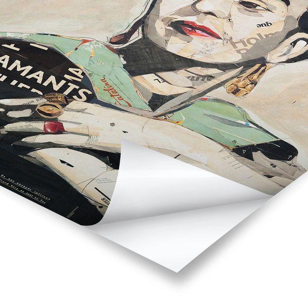 Produktfoto Poster - Frida Kahlo - Collage No.4 - Hochformat 3:2
