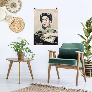 Product picture Poster - Frida Kahlo - Collage No.4 -...