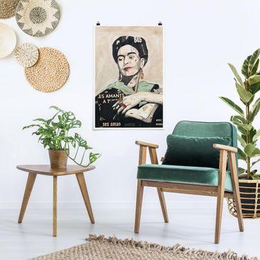 Immagine del prodotto Poster - Frida Kahlo - Collage No.4 - Verticale 3:2