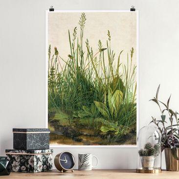 Produktfoto Poster - Albrecht Dürer - Das große Rasenstück - Hochformat 3-2 Material matt Artikelnummer 249848-CU
