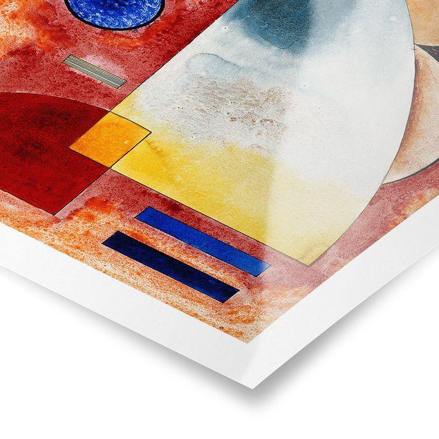 Produktfoto Poster - Wassily Kandinsky - Ineinander - Hochformat 3:2