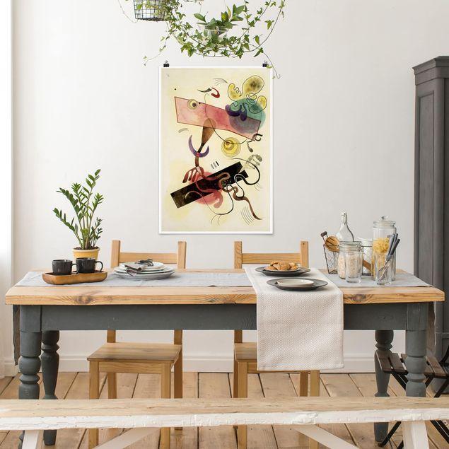 Produktfoto Poster - Wassily Kandinsky - Taches - Hochformat 3:2