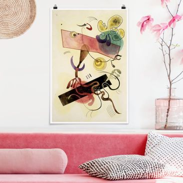 Produktfoto Poster - Wassily Kandinsky - Taches - Hochformat 3-2 Material matt Artikelnummer 249950-CU
