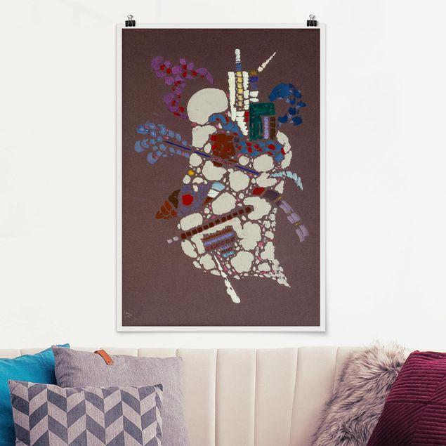 Produktfoto Poster - Wassily Kandinsky - Taches Grises - Hochformat 3:2