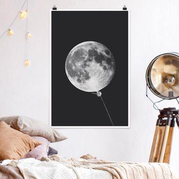 Immagine del prodotto Poster - Jonas Loose - Palloncino con Luna - Verticale 3:2