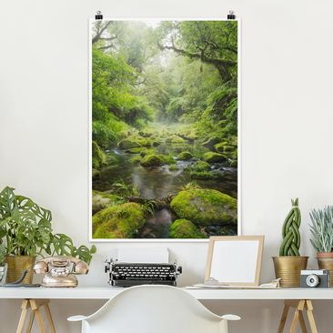 Product picture Poster - Bay Of Plenty - Portrait Format...