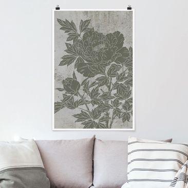 Immagine del prodotto Poster - Blooming Peony II - Verticale 3:2