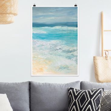 Product picture Poster - Storm On The Sea II - Portrait...