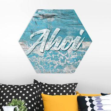 Produktfoto Hexagon Bild Forex - Ahoi vergrößerte Ansicht in Wohnambiente Artikelnummer 250713-XWA