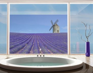 Product picture Window Mural Scent Of Lavender In The...