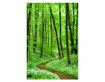Product picture Window Mural Romantic Forest Track