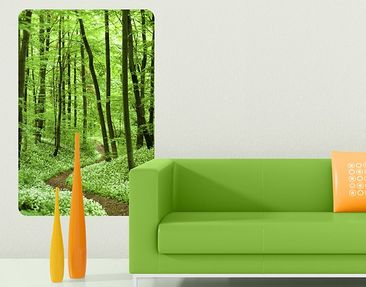 Produktfoto Wall Mural Romantic Forest Track