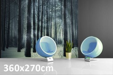 Product picture Photo Wall Mural Mystical Winter Forest